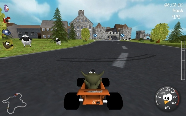 SuperTuxKart game on Ubuntu