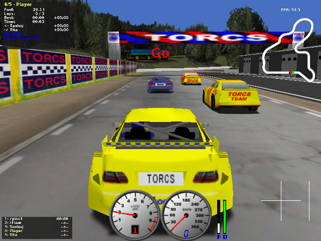 4 speed dreams racing game