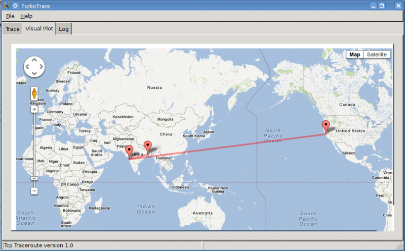 visual traceroute tool