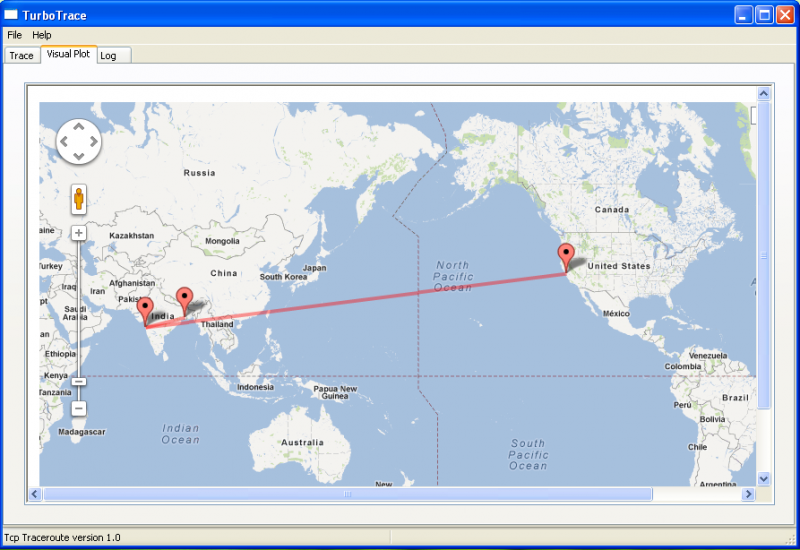 Traceroute - VisualRoute - Download Page
