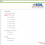 Fix Bsnl broadband frequent disconnection problem