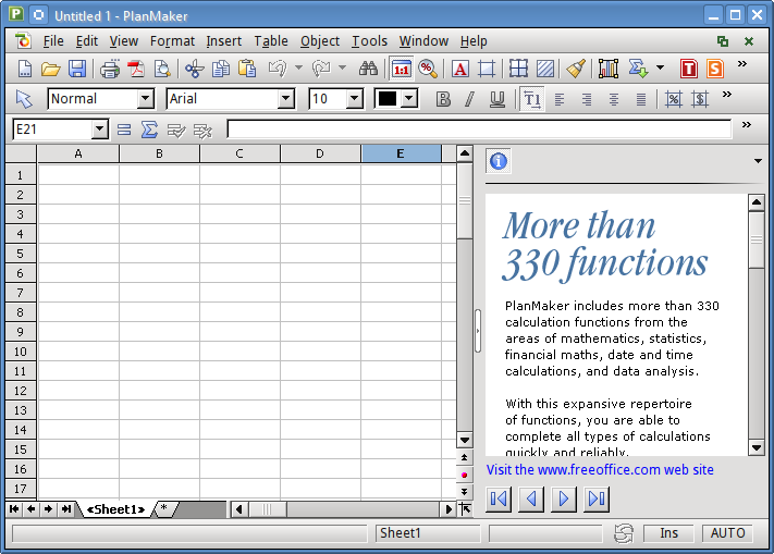 freeoffice_planmaker