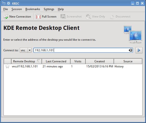 Setup remote desktop sharing on kde using vnc – BinaryTides