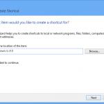 Add a shutdown button to desktop in windows 8