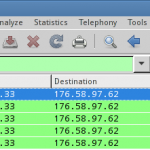 Sniff http post data with wireshark