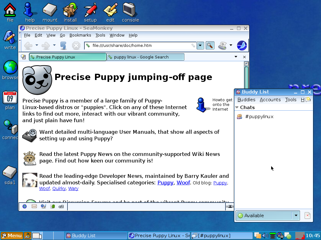 Precise Puppy 5 7 1 review – a small and swift linux distro