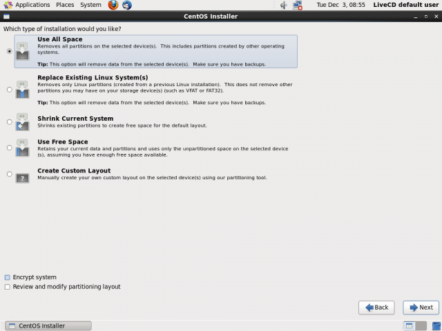 centos 6.5 install screenshot 9