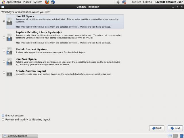 centos 6.5 install screenshot 9