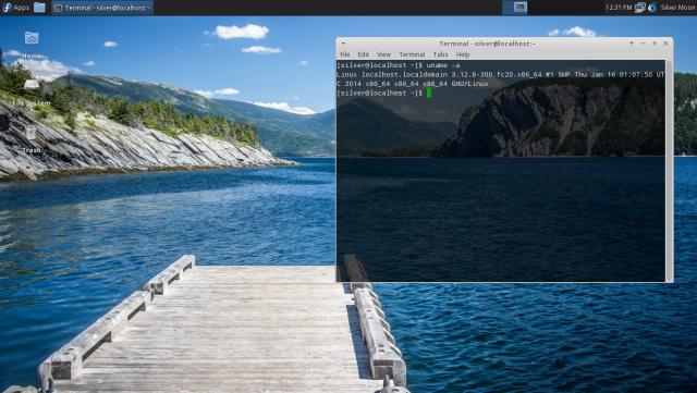 Fedora 20 Xfce spin
