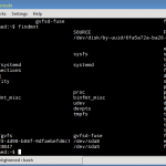 8 examples of findmnt command to check mounted file systems on Linux
