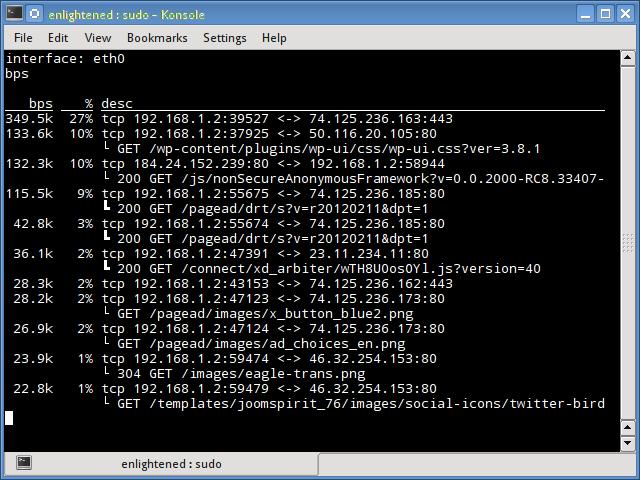 pktstat linux network monitor