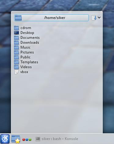 kubuntu quick access plasma widget