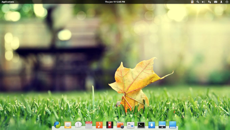 elementary os luna desktop