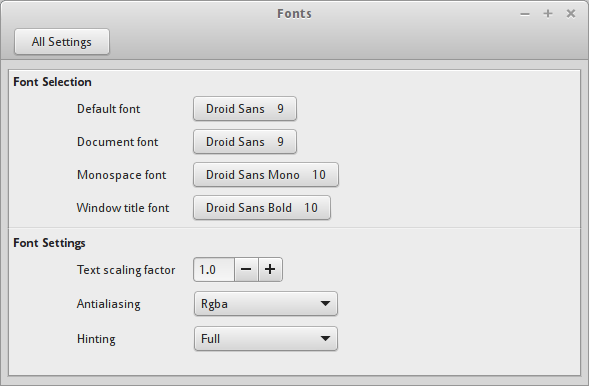 How to get gorgeous looking fonts on Linux Mint