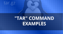 tar command examples linux