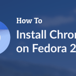 How to install Chromium browser on Fedora 23