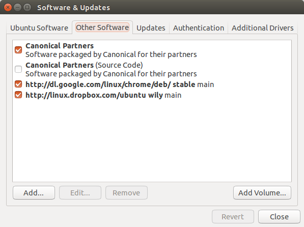Ubuntu Canonical partners repository
