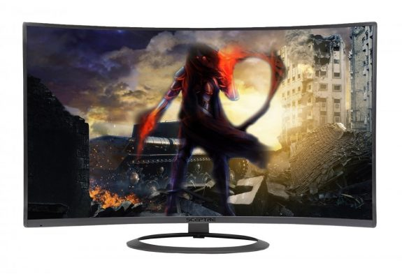 SCEPTRE C278W-1920R Curved LED Monitor
