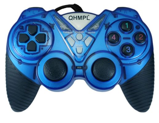 Quantum New USB Game Pad QHM7487-2V-C