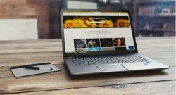wide screen laptop