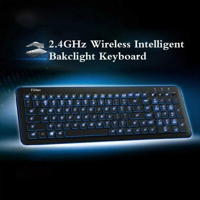 Pesp Backlight Wireless Gaming Keyboard
