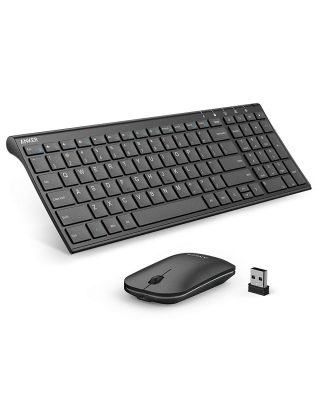 Anker 2.4GHz Wireless Keyboard and Mouse Combo