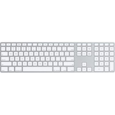 Apple MB110LL/A Aluminum Wired Keyboard