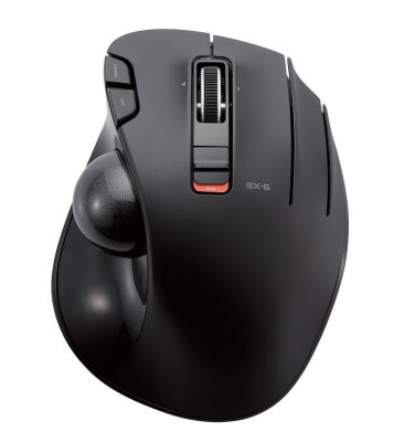 ELECOM M-XT3DRBK Wireless Trackball Mouse
