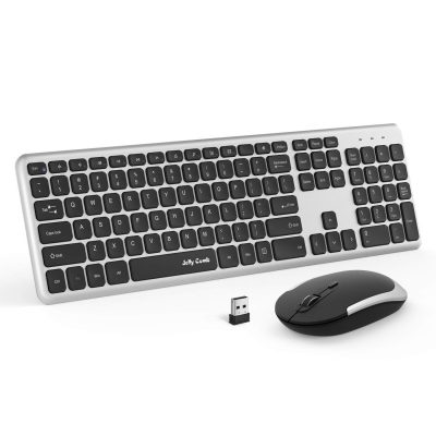 Jelly Comb Wireless Keyboard Mouse