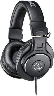 Audio-Technica ATH-M30x Studio Monitor Headphones