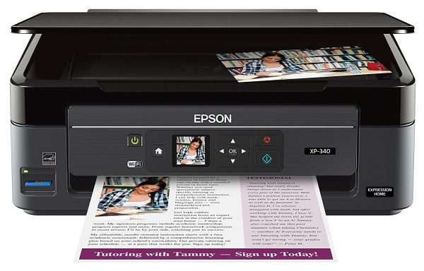 Epson Expression Home XP-340 Photo Printer