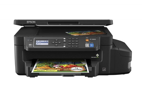 Epson ET-3600 EcoTank Wireless Supertank Printer
