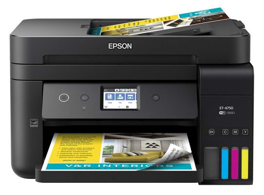 Epson WorkForce ET-4750 EcoTank Wireless Color Printer