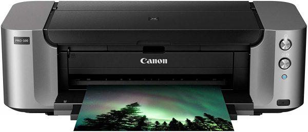 Canon PIXMA Pro-100 Wireless Color Professional Inkjet Printer