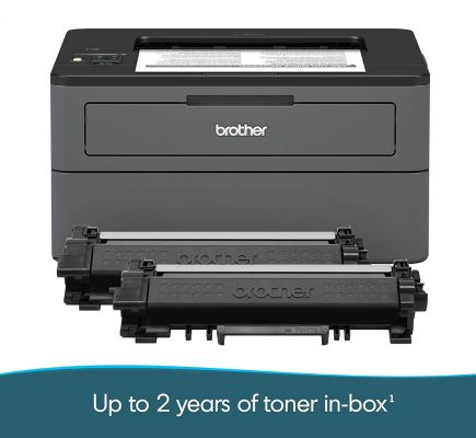 Brother Compact Monochrome Laser Printer, HL-L2370DWXL