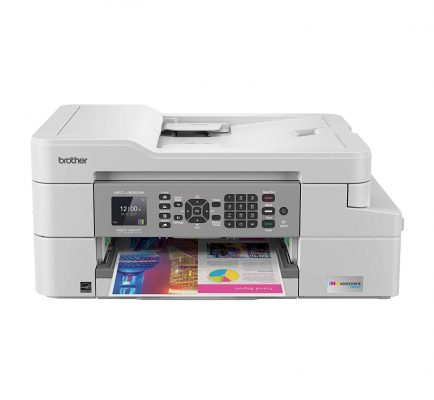 Brother MFC-J805DW Color Inkjet All-in-One Printer