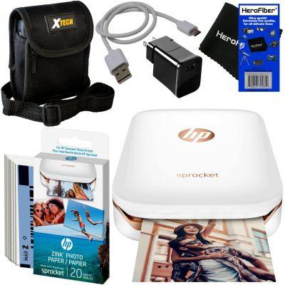 HP Sprocket Photo Printer 30 sheets Photo Paper