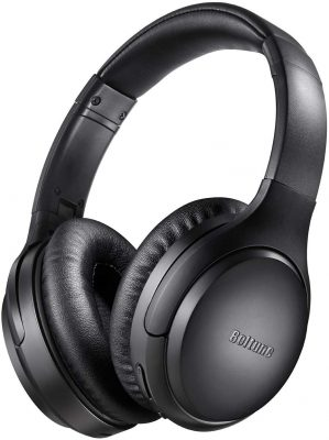 Boltune Over Ear Noise-Cancelling Headphones