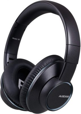 AUSDOM H8 Foldable Wireless Headphones
