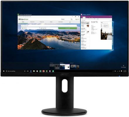 "Acer ET241Y Abmir 23.8"" Full HD Monitor"