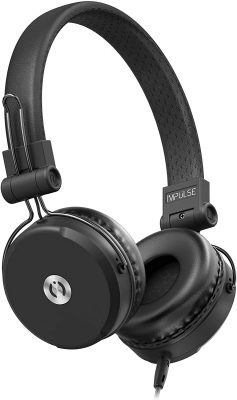 MuveAcoustics Impulse Wired on-ear headphones