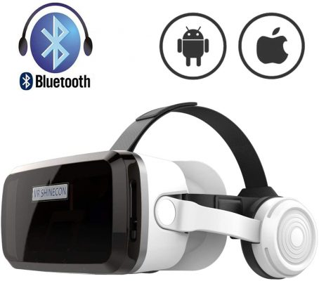 SHINECON VR Headset with Bluetooth