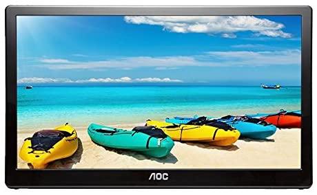 "AOC I1659FWUX 15.6"" USB-powered portable monitor"