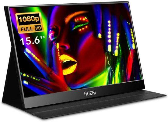 AUZAI 15.6-Inch USB-C Portable Monitor