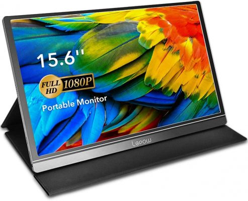 Lepow 15.6 Inch 1920×1080 Full HD IPS Gaming Monitor