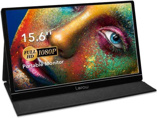 Lepow 15.6 Inch Full HD 1080P Portable Monitor