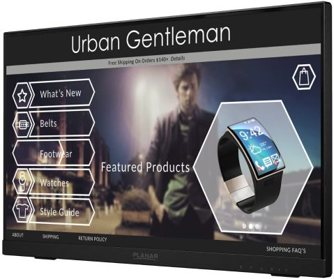 Planar Helium PCT2235 Touch Screen Monitor