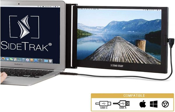 "SideTrak 12.5"" Portable Monitor for Laptop"