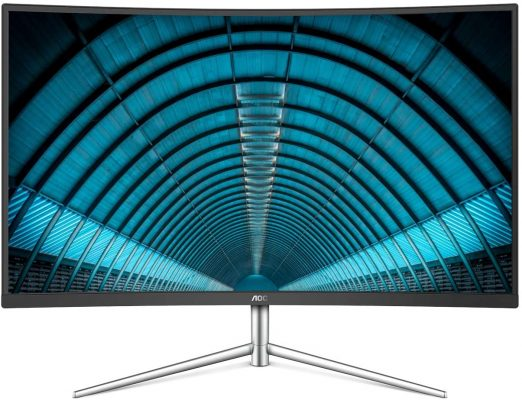 "AOC C32V1Q 31.5"" Full HD Curved VA Panel"