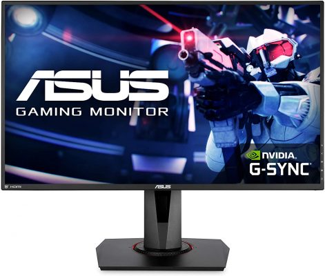 "ASUS VG278QR 27"" 1080P Full HD Gaming Monitor"
